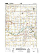 Burley Idaho Current topographic map, 1:24000 scale, 7.5 X 7.5 Minute, Year 2013 from Idaho Map Store