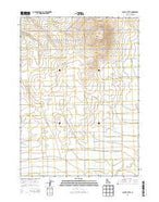 Burley Butte Idaho Current topographic map, 1:24000 scale, 7.5 X 7.5 Minute, Year 2013 from Idaho Map Store
