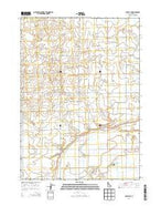 Burley NE Idaho Current topographic map, 1:24000 scale, 7.5 X 7.5 Minute, Year 2013 from Idaho Map Store