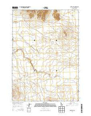 Butte City Idaho Current topographic map, 1:24000 scale, 7.5 X 7.5 Minute, Year 2013 from Idaho Maps Store