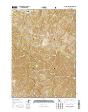 Buttercup Mountain Idaho Current topographic map, 1:24000 scale, 7.5 X 7.5 Minute, Year 2013 from Idaho Maps Store