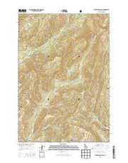 Butterfield Gulch Idaho Current topographic map, 1:24000 scale, 7.5 X 7.5 Minute, Year 2013 from Idaho Maps Store