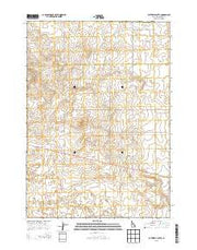 Butterfly Butte Idaho Current topographic map, 1:24000 scale, 7.5 X 7.5 Minute, Year 2013 from Idaho Maps Store