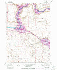 C.J. Strike Dam Idaho Historical topographic map, 1:24000 scale, 7.5 X 7.5 Minute, Year 1946