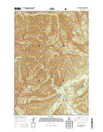 Cape Horn Lakes Idaho Current topographic map, 1:24000 scale, 7.5 X 7.5 Minute, Year 2013 from Idaho Map Store