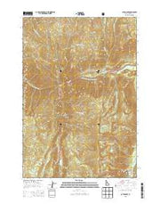Caton Lake Idaho Current topographic map, 1:24000 scale, 7.5 X 7.5 Minute, Year 2013 from Idaho Maps Store
