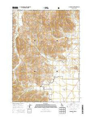 Champagne Creek Idaho Current topographic map, 1:24000 scale, 7.5 X 7.5 Minute, Year 2013 from Idaho Maps Store