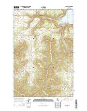 Chatcolet Idaho Current topographic map, 1:24000 scale, 7.5 X 7.5 Minute, Year 2013 from Idaho Maps Store