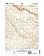 Clover Butte North Idaho Current topographic map, 1:24000 scale, 7.5 X 7.5 Minute, Year 2013 from Idaho Map Store