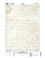 Clover Butte South Idaho Current topographic map, 1:24000 scale, 7.5 X 7.5 Minute, Year 2013 from Idaho Map Store