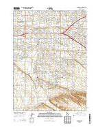 Cloverdale Idaho Current topographic map, 1:24000 scale, 7.5 X 7.5 Minute, Year 2013 from Idaho Map Store