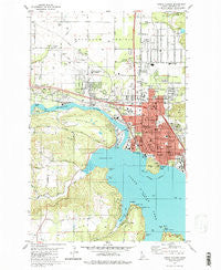 Coeur D'Alene Idaho Historical topographic map, 1:24000 scale, 7.5 X 7.5 Minute, Year 1981