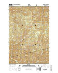 Cook Mountain Idaho Current topographic map, 1:24000 scale, 7.5 X 7.5 Minute, Year 2014