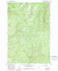 Corral Hill Idaho Historical topographic map, 1:24000 scale, 7.5 X 7.5 Minute, Year 1963