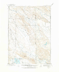 Cranes Flat Idaho Historical topographic map, 1:62500 scale, 15 X 15 Minute, Year 1917