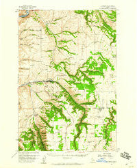 Culdesac Idaho Historical topographic map, 1:62500 scale, 15 X 15 Minute, Year 1958