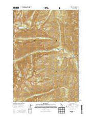 Enos Lake Idaho Current topographic map, 1:24000 scale, 7.5 X 7.5 Minute, Year 2013 from Idaho Maps Store