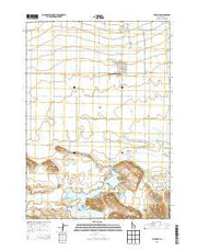Fairfield Idaho Current topographic map, 1:24000 scale, 7.5 X 7.5 Minute, Year 2013 from Idaho Maps Store