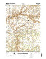 Fairylawn Idaho Current topographic map, 1:24000 scale, 7.5 X 7.5 Minute, Year 2013 from Idaho Maps Store