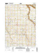 Filer Idaho Current topographic map, 1:24000 scale, 7.5 X 7.5 Minute, Year 2013 from Idaho Map Store