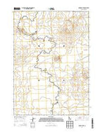 Fingers Butte Idaho Current topographic map, 1:24000 scale, 7.5 X 7.5 Minute, Year 2013 from Idaho Map Store