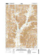Fish Creek Reservoir Idaho Current topographic map, 1:24000 scale, 7.5 X 7.5 Minute, Year 2013 from Idaho Map Store