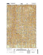 Fishhook Creek Idaho Current topographic map, 1:24000 scale, 7.5 X 7.5 Minute, Year 2013 from Idaho Map Store