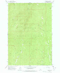 Florence Idaho Historical topographic map, 1:24000 scale, 7.5 X 7.5 Minute, Year 1963