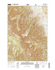 Gilmore Idaho Current topographic map, 1:24000 scale, 7.5 X 7.5 Minute, Year 2013 from Idaho Maps Store