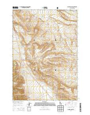 Gilmore Summit Idaho Current topographic map, 1:24000 scale, 7.5 X 7.5 Minute, Year 2013 from Idaho Maps Store