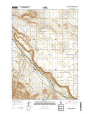 Givens Hot Springs Idaho Current topographic map, 1:24000 scale, 7.5 X 7.5 Minute, Year 2013 from Idaho Maps Store