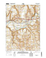 Glenns Ferry Idaho Current topographic map, 1:24000 scale, 7.5 X 7.5 Minute, Year 2013 from Idaho Maps Store