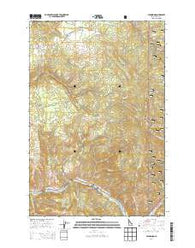 Glenwood Idaho Current topographic map, 1:24000 scale, 7.5 X 7.5 Minute, Year 2014