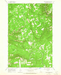 Goodwin Meadows Idaho Historical topographic map, 1:24000 scale, 7.5 X 7.5 Minute, Year 1963
