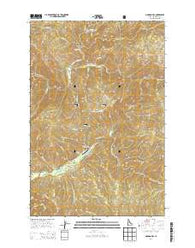 Gorman Hill Idaho Current topographic map, 1:24000 scale, 7.5 X 7.5 Minute, Year 2014
