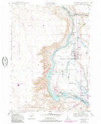 Hagerman Idaho Historical topographic map, 1:24000 scale, 7.5 X 7.5 Minute, Year 1949
