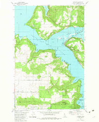 Harrison Idaho Historical topographic map, 1:24000 scale, 7.5 X 7.5 Minute, Year 1981
