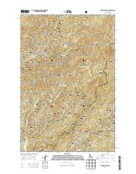 Hemlock Butte Idaho Current topographic map, 1:24000 scale, 7.5 X 7.5 Minute, Year 2014