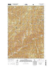 Holly Creek Idaho Current topographic map, 1:24000 scale, 7.5 X 7.5 Minute, Year 2013 from Idaho Maps Store
