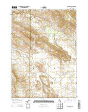 Homer Valley Idaho Current topographic map, 1:24000 scale, 7.5 X 7.5 Minute, Year 2013 from Idaho Maps Store