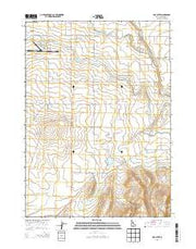 Hub Butte Idaho Current topographic map, 1:24000 scale, 7.5 X 7.5 Minute, Year 2013 from Idaho Maps Store