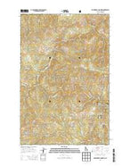 Huckleberry Mountain Idaho Current topographic map, 1:24000 scale, 7.5 X 7.5 Minute, Year 2013 from Idaho Map Store