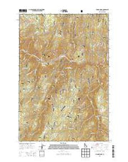 Hungry Ridge Idaho Current topographic map, 1:24000 scale, 7.5 X 7.5 Minute, Year 2013 from Idaho Maps Store