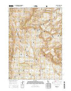 Ibex Peak Idaho Current topographic map, 1:24000 scale, 7.5 X 7.5 Minute, Year 2013 from Idaho Map Store