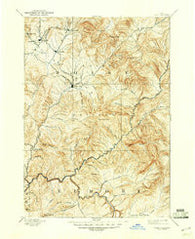 Idaho City Idaho Historical topographic map, 1:125000 scale, 30 X 30 Minute, Year 1894