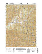 Idaho City Idaho Current topographic map, 1:24000 scale, 7.5 X 7.5 Minute, Year 2013 from Idaho Map Store