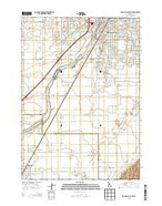 Idaho Falls South Idaho Current topographic map, 1:24000 scale, 7.5 X 7.5 Minute, Year 2013 from Idaho Map Store