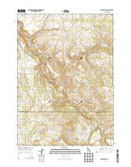 Jumpoff Hill Idaho Current topographic map, 1:24000 scale, 7.5 X 7.5 Minute, Year 2013 from Idaho Map Store