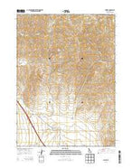 Juniper Idaho Current topographic map, 1:24000 scale, 7.5 X 7.5 Minute, Year 2013 from Idaho Map Store