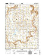 Juniper Basin Idaho Current topographic map, 1:24000 scale, 7.5 X 7.5 Minute, Year 2013 from Idaho Map Store